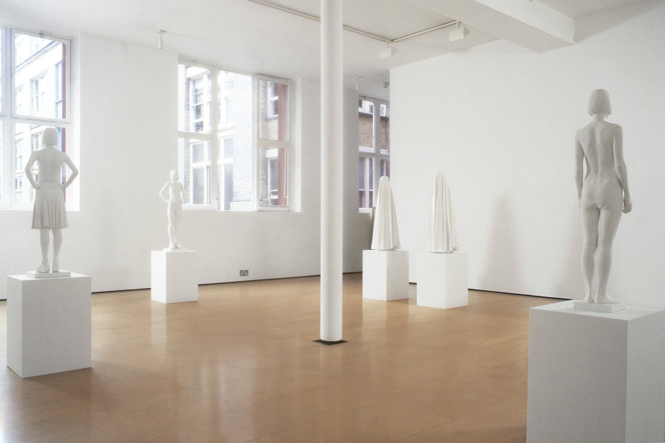 Installation view, 2000