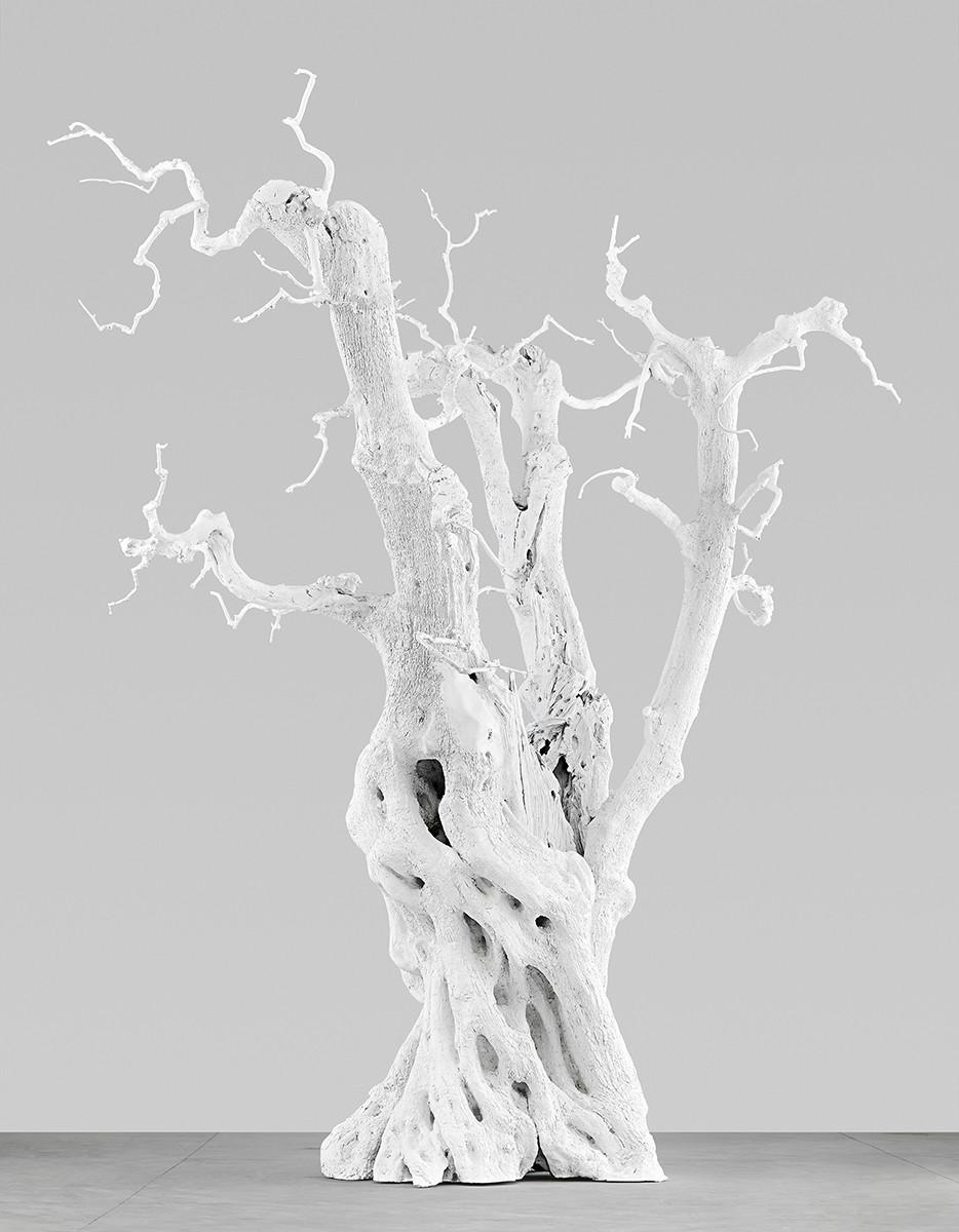 summer moon , 2011  cast aluminium, white enamel  600 x 550 x 550 cm / 236 ⅛ x 216 ½ x 216 ½ in
