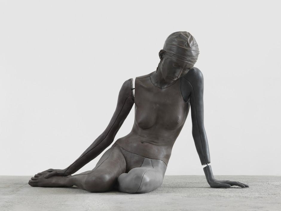 nude (xxxxxxxxxxxxx), 2011  wax, earth pigments  74 x 109 x 64 cm / 29 ⅛ x 42 ⅞ x 25 ¼ in