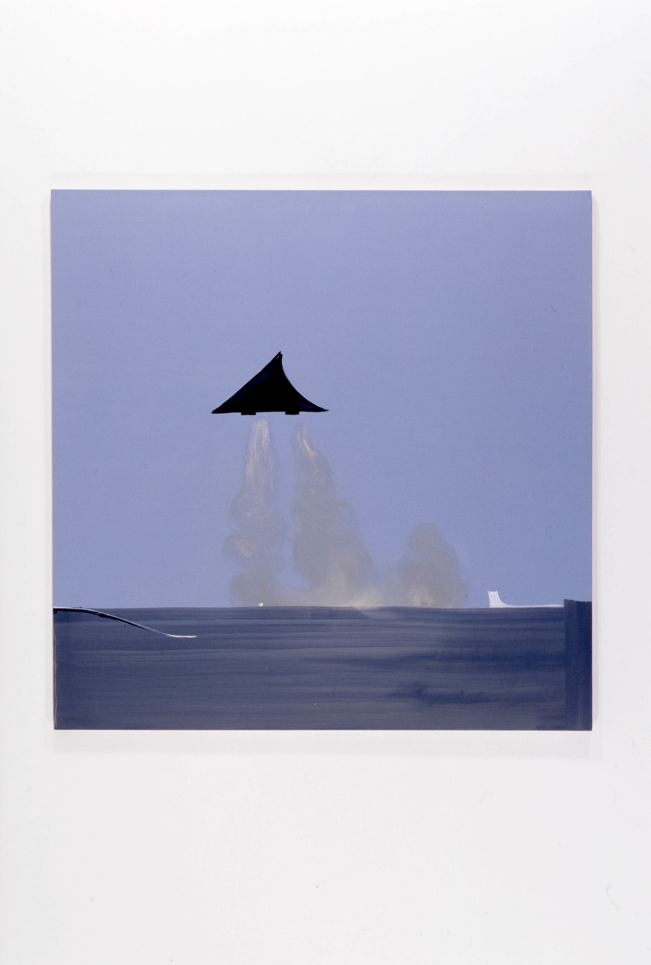 Concorde, 2007  oil on canvas  160.02 x 160.02 x 2.54 cm 63 x 63 x 1 in.
