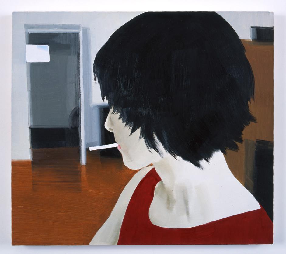 Anka, 2001  oil on canvas  45.1 x 50.2 cm 17 3/4 x 19 3/4 in.