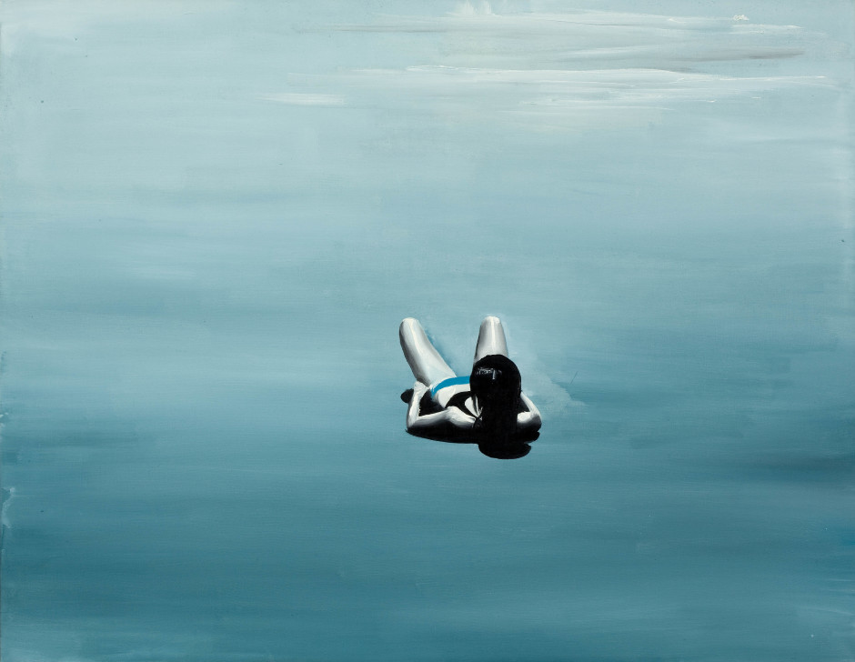Untitled (Anka), 2010  oil on canvas  55 x 70 cm