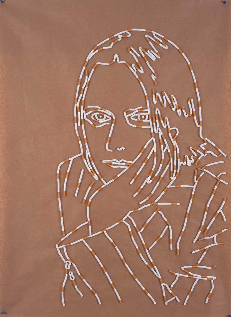 Self Portrait with Cigarettes, 2000