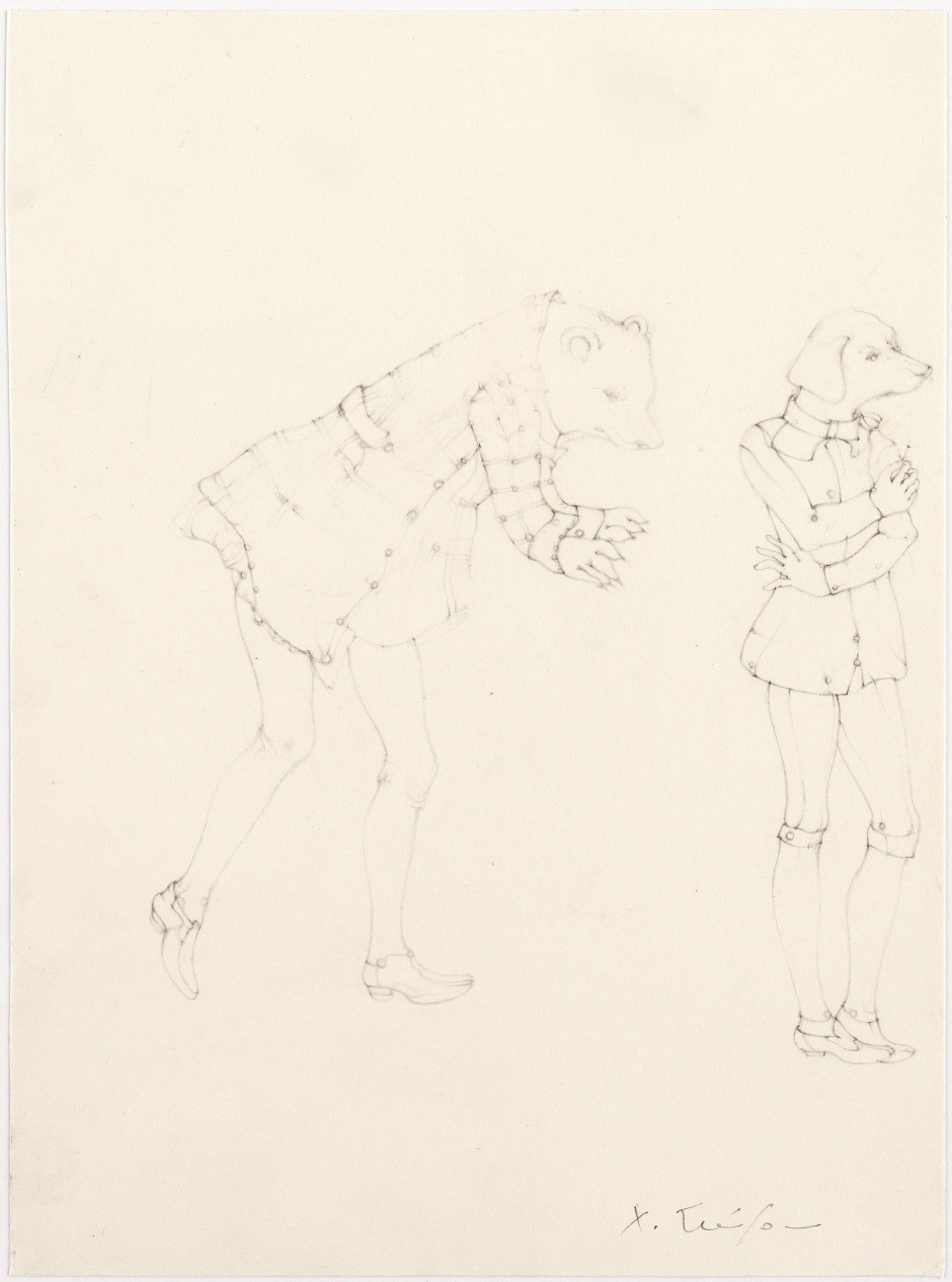 Oberon's Wish, 2008  Signed on front  pencil on paper  20.3 x 15.1 cm 8 x 6 in.