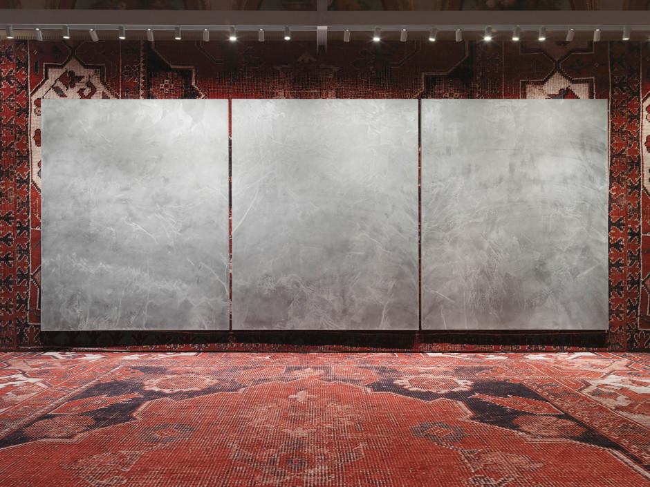 Installation view, Rudolf Stingel, Palazzo Grassi, Venice, Italy, 7 April – 31 December 2013