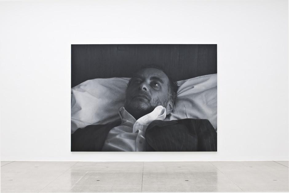 Untitled (After Sam), Installation view, Rudolf Stingel, Secession, Vienna, 23 February – 15 April 2012  Photo: Jorit Aust