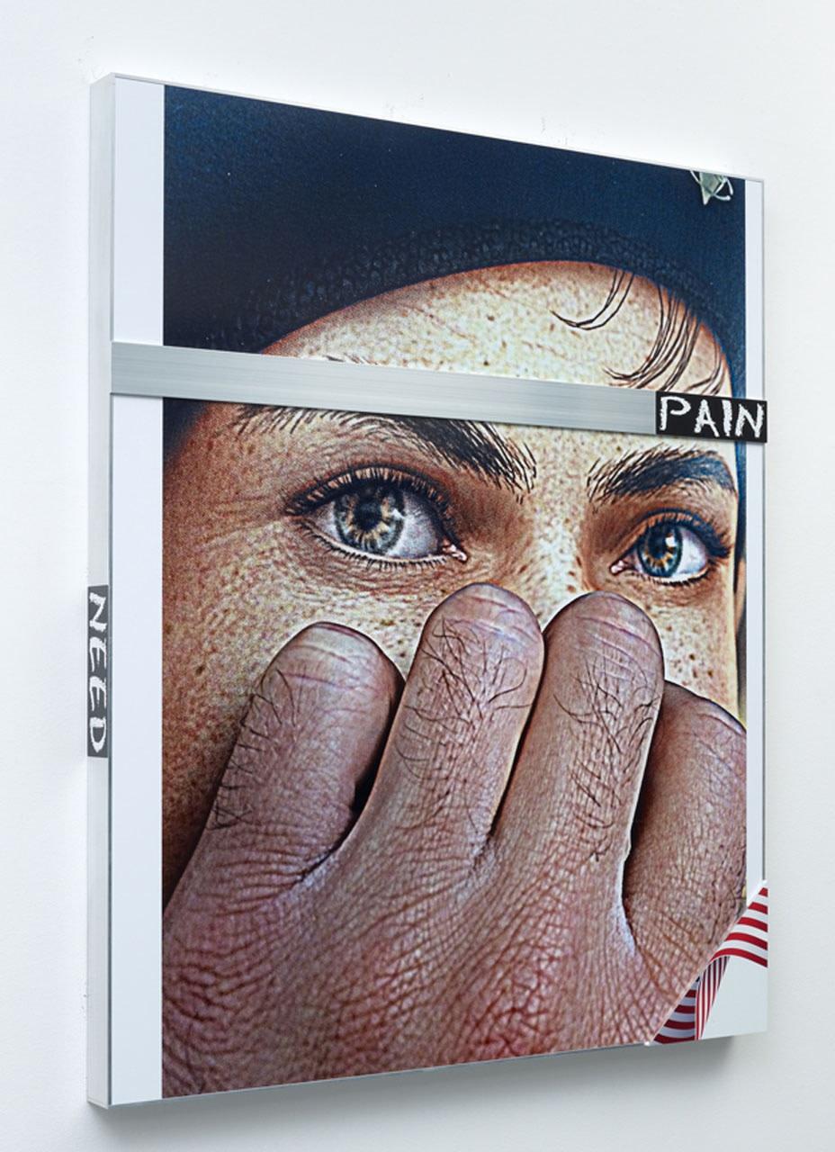 Untitled, 2014  inkjet print on glossy photo paper on aluminium panel  152.4 x 127.0 x 8.3 cm 60 x 50 x 3 1/4 in.