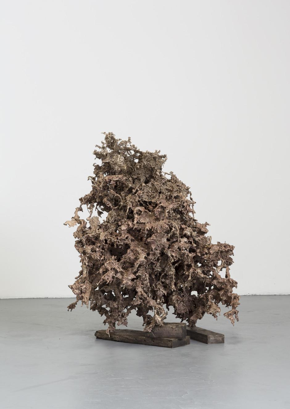 Water Cast 8, 2015  cast bronze  165.1 x 152.4 x 165.1 cm 65 x 60 x 65 in.