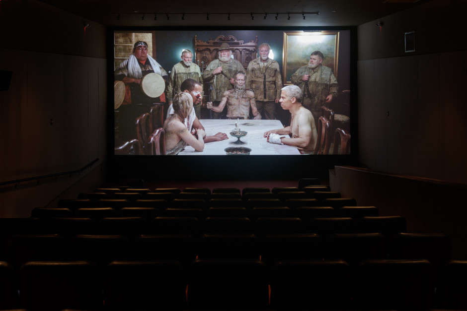 Installation view, Matthew Barney: River of Fundament, The Geffen Contemporary at MOCA, Los Angeles (CA), USA, 2015