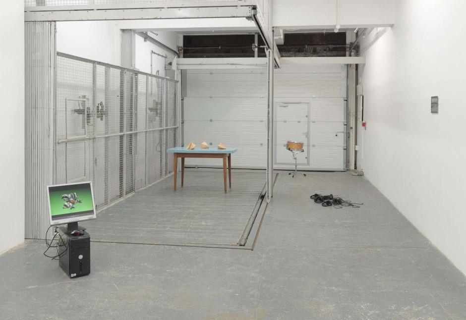 Installation view, 2012