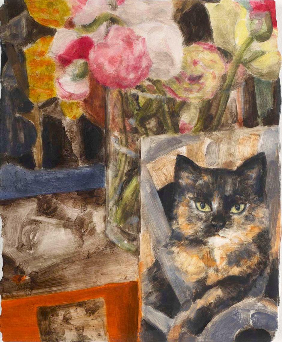 Cat (Cat Still Life), 2009