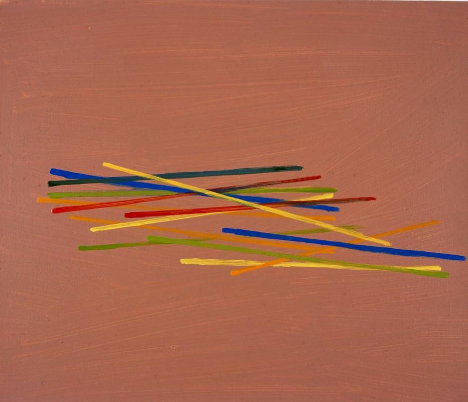 Untitled (pick-up sticks), 2003