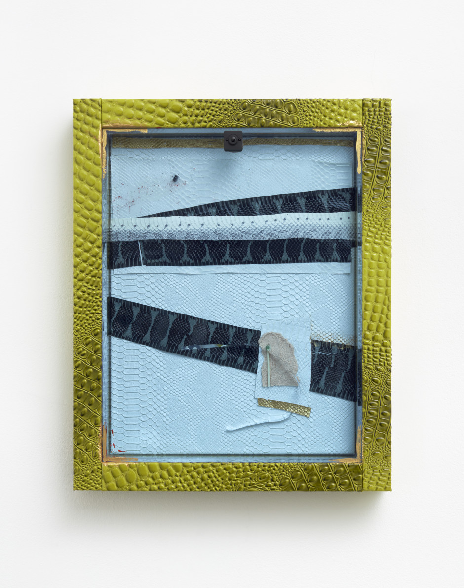 Farancia abacura, 2018  mixed media  52 x 41.9 x 9 cm / 20 ½ x 16 ½ x 3 ½ in