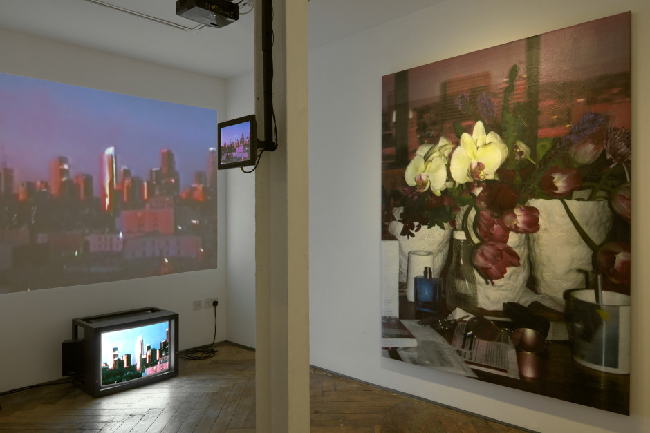 Installation view, Château Shatto, Parker Ito, The Shop, 62 Kingly Street, 2019  Photo by Robert Glowacki