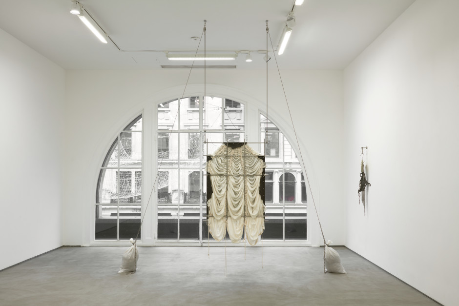 Installation view, JTT, Elaine Cameron-Weir, 62 Kingly Street, 2019 Photo by Robert Glowacki