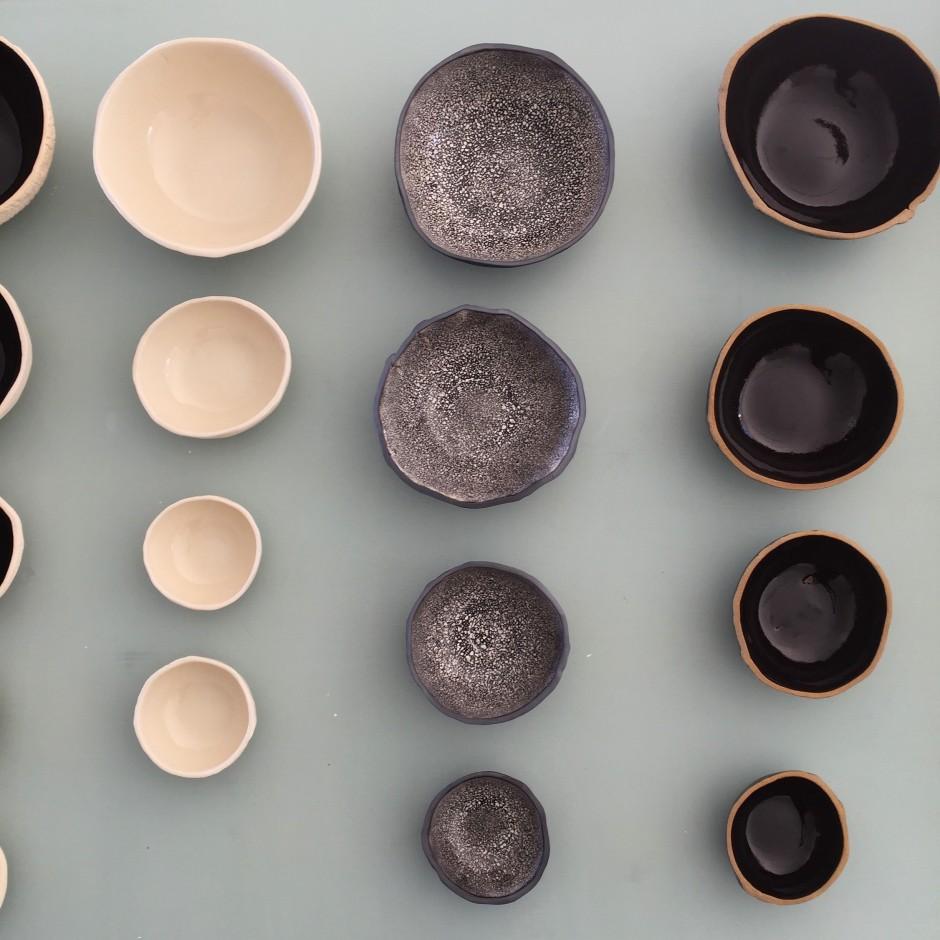 Ceramic bowls, 2019