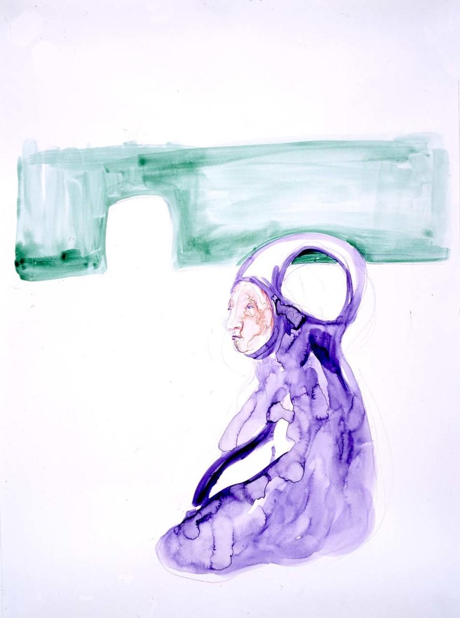 Man, Thinking, 2005