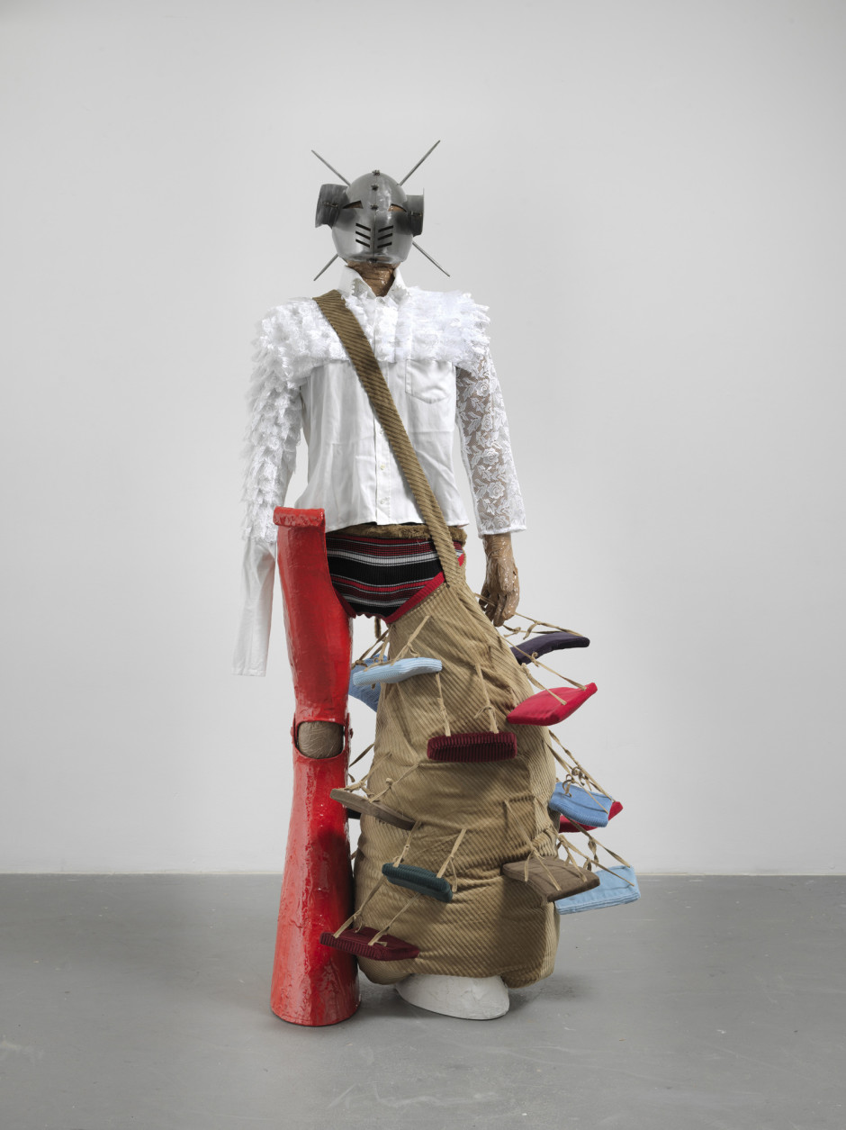 Quasi me costume, 2012  not signed or dated  mixed media  225.0 x 90.0 x 107.0 cm 88 5/8 x 35 3/8 x 42 1/8 in.