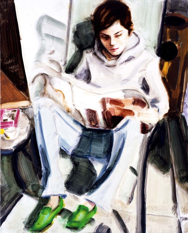 EP Reading (Self-Portrait), 2005