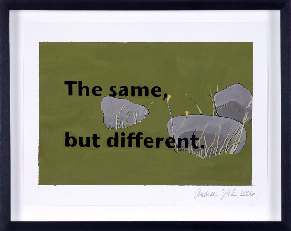 The Same But Different, 2006
