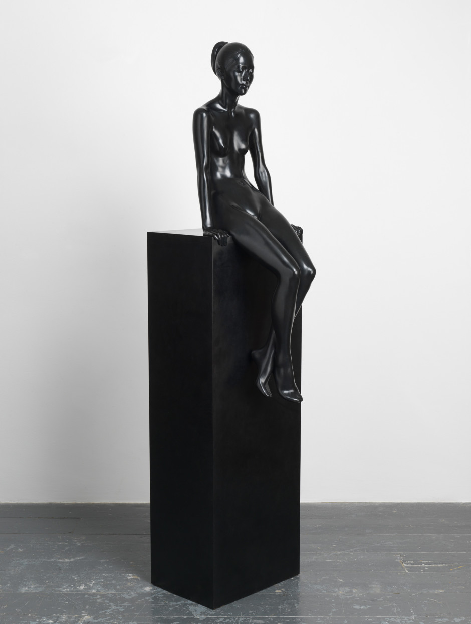 Yoko XXXIII, 2010  bronze  106.0 x 37.0 x 36.0 cm 41 3/4 x 14 5/8 x 14 1/8 in.