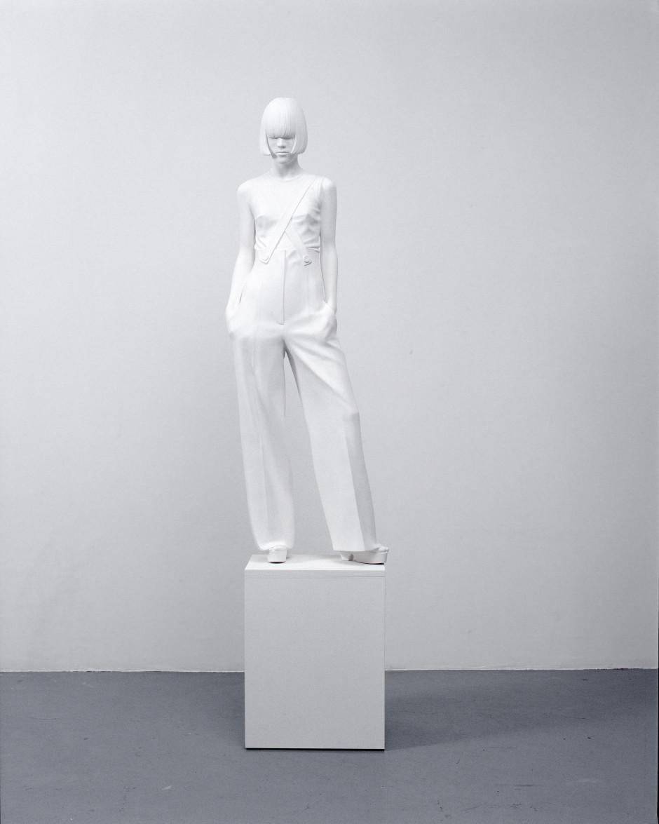Yoko XX, 2007  acrylic composite, gesso, wood  137.0 x 45.0 x 30.0 cm 53 7/8 x 17 3/4 x 11 3/4 in.