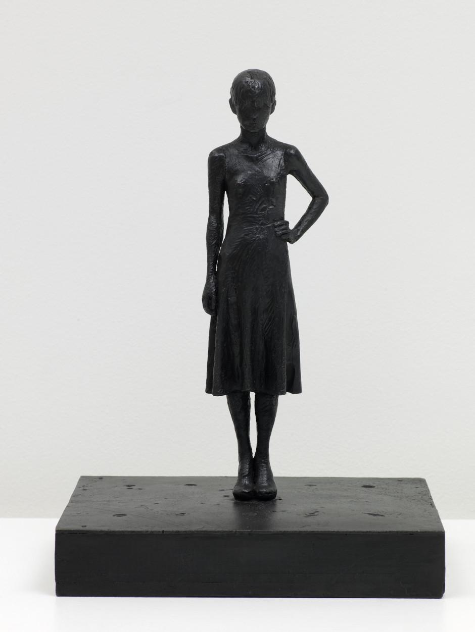 Yoko (dress), 2008  bronze  34.93 x 20.0 x 24.77 cm 13 3/4 x 7 7/8 x 9 3/4 in.