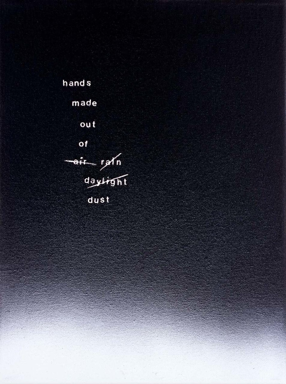 lines out to silence, 2005