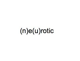 (n)e(u)rotic  dimsensions variable
