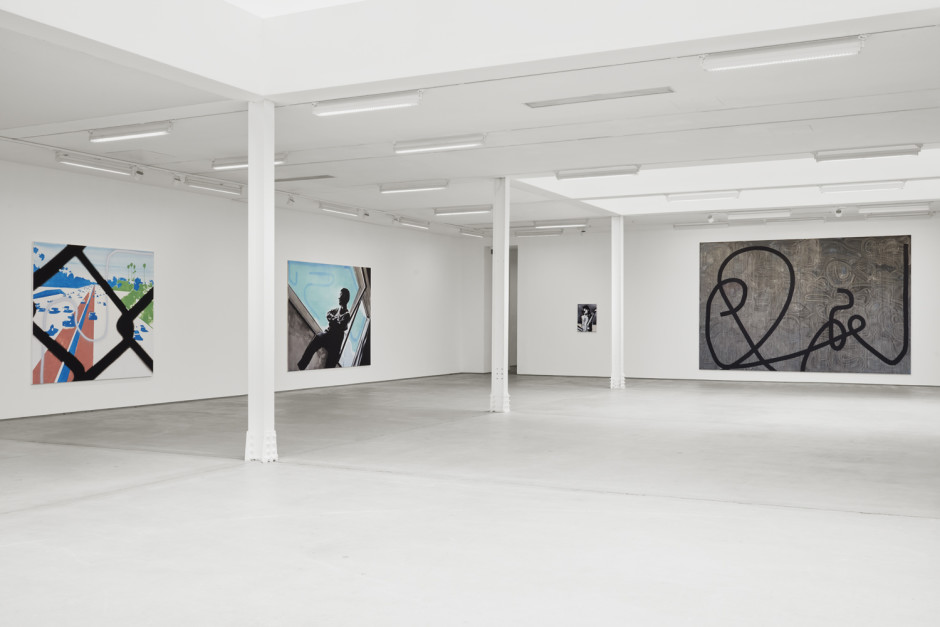 Installation view, Wilhelm Sasnal, 62 Kingly Street W1, 3 September - 17 October 2020  Photography by Robert Glowacki