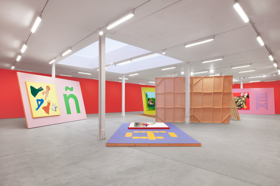 Installation view, Alex Da Corte, Sadie Coles HQ, 62 Kingly Street W1, 31 October - 13th January 2020  Photography by Eva Herzog
