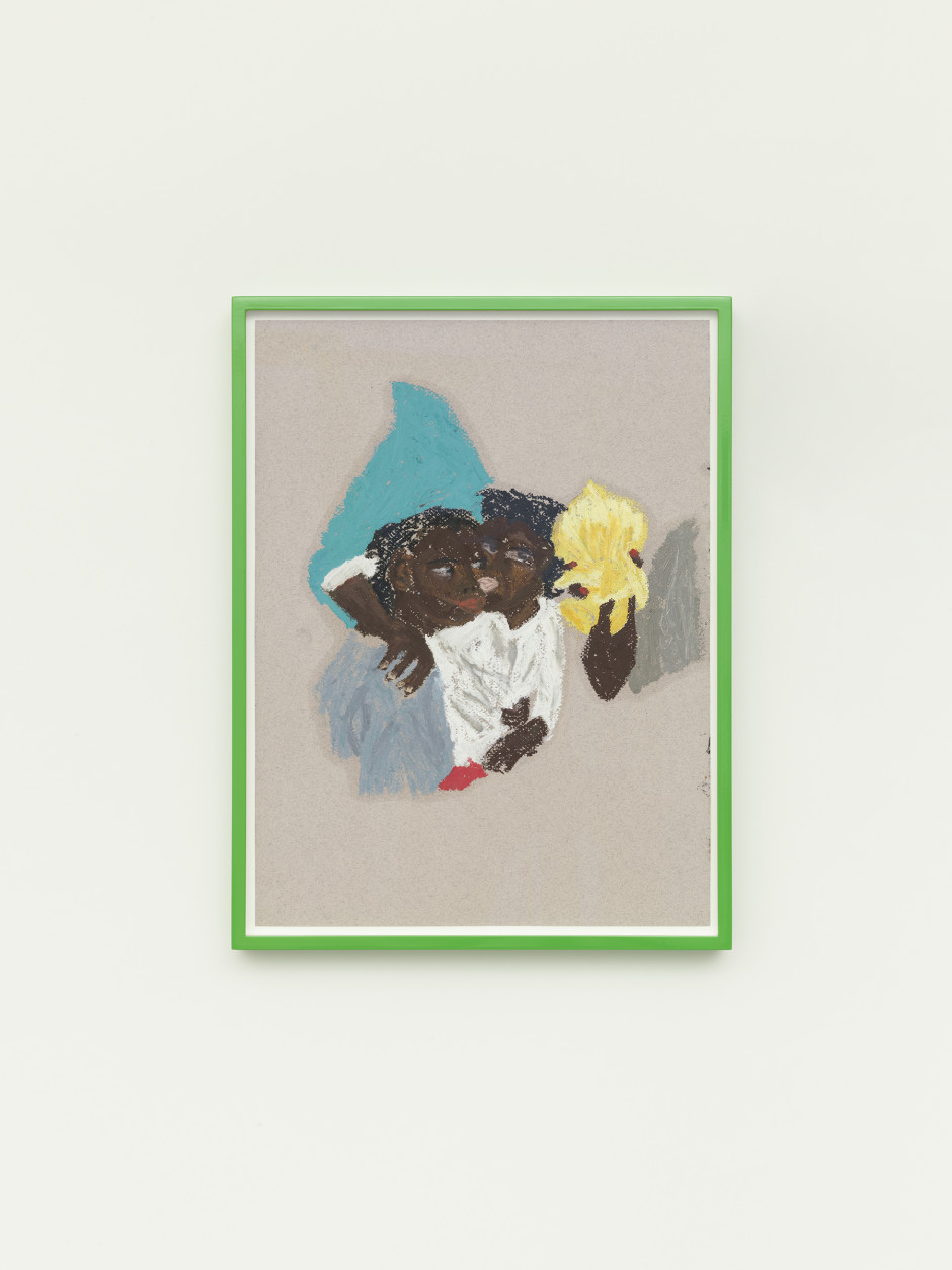 Las Vegas, 2021  oil pastel on paper  40.6 x 30.5 cm / 16 x 12 ⅛ in