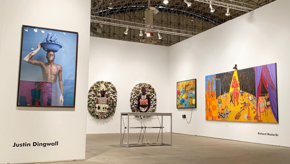 EXPO chicago: MARION BOEHM, JUSTIN DINGWALL, RICHARD MUDARIKI, ransome staley 19 TO 22 SEPTEMBER 2019 - chicago / usa