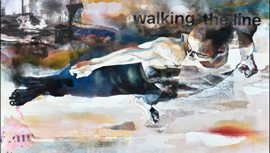Walking the line - Bruce Clarke 29 January - 13 March 2021 ARTCO Galerie Berlin