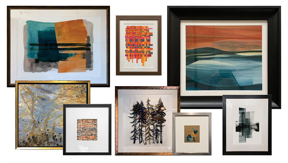Exclusive AL Studio art prints created in series, colour and size adjustable.