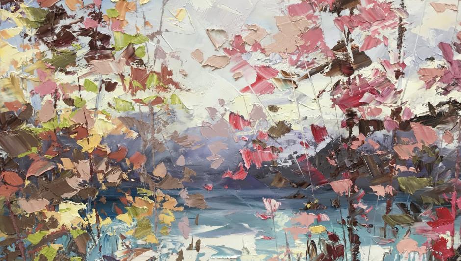 Paul Treasure, River Landscape
