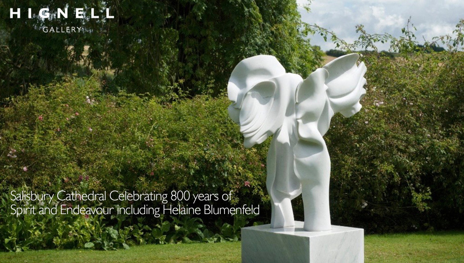 Now on! Salisbury Cathedral Celebrating 800 years of Spirit and Endeavour including Helaine Blumenfeld Here the link for more info https://www.salisburycathedral.org.uk/events/spirit-and-endeavour