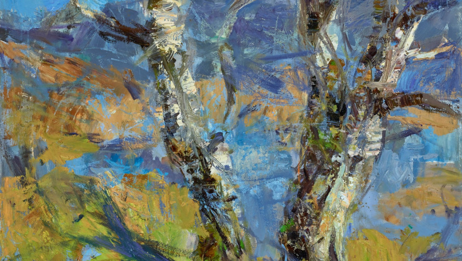 ALLAN MACDONALD  old forest, Cul Mhor  70cm x 100cm | oil on canvas