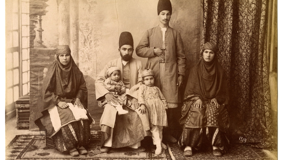 "The Nelson Collection website has been created to help raise awareness of a golden era in the global development of photography as an art form. The development of photography in Iran during the Qajar era (1785 - 1925) was given initial impetus by the accession of Nasser al-Din Shah in 1848, who not only took a keen interest in the early photographic techniques that were emerging at that time (ten years after the birth of commercial photography), but also took up photography himself. A golden era of photography was to subsequently emerge in Iran that spanned the period from the mid-1840s to the mid-1920s, where Iranian and European photographers produced bodies of work that captured not only life in the royal court and architectural imagery, but also recorded the lives of the people of Iran and the rich diversity of the country's society. Amongst the most noteworthy Iranian photographers included Mirza Reza Akkasbash (1843 -1889), Abdullah Mirza Qajar (1850 -1909) and Antoin Sevruguin (1840s -1933), whilst European photographers such as Jules Richard (1816 - 1891), Luigi Pesce (1818 -1891), Dmitri Ivanovich Ermakov (1846 - 1916) and Ernst Höltzer (1835 -1911) also made meaningful contributions to the recording of Iran's history and its people. Despite the quality and historical relevance of the photography being produced in 19th Century Iran, images from the Qajar period are uncommon and certainly much more so than photographic representations of say, Egypt, the Ottoman Empire or Palestine. The rareness of photographic images from this period is particularly the case when it comes to Antoin Sevruguin's body of work, following the destruction of some 5,000 glass plate negatives in 1908 and the later confiscation of the remaining 2,000 negatives that represented his life's work during the reign of Riza Shah Pahlavi, whose accession took place in 1925. One of the largest collections of glass plate negatives known to exist today is held in the Freer Gallery of Art and the Arthur M. Sackler Archives at the Smithsonian Institution in Washington. The collection consists of 695 glass plate negatives. Copyright | Citations All rights reserved. It is the responsibility of the user to determine and satisfy copyright, or other use restrictions (such as donor restrictions, privacy rights, licensing, and trademarks) when publishing, or otherwise distributing content from the collection. In such circumstances, citations must include: ""© The Nelson Collection of Qajar Photography"" and the name of the photographer and negative number, if available."