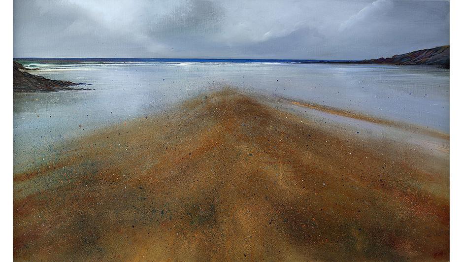 'Flow' By Suki Wapshott Oil on Linen Canvas