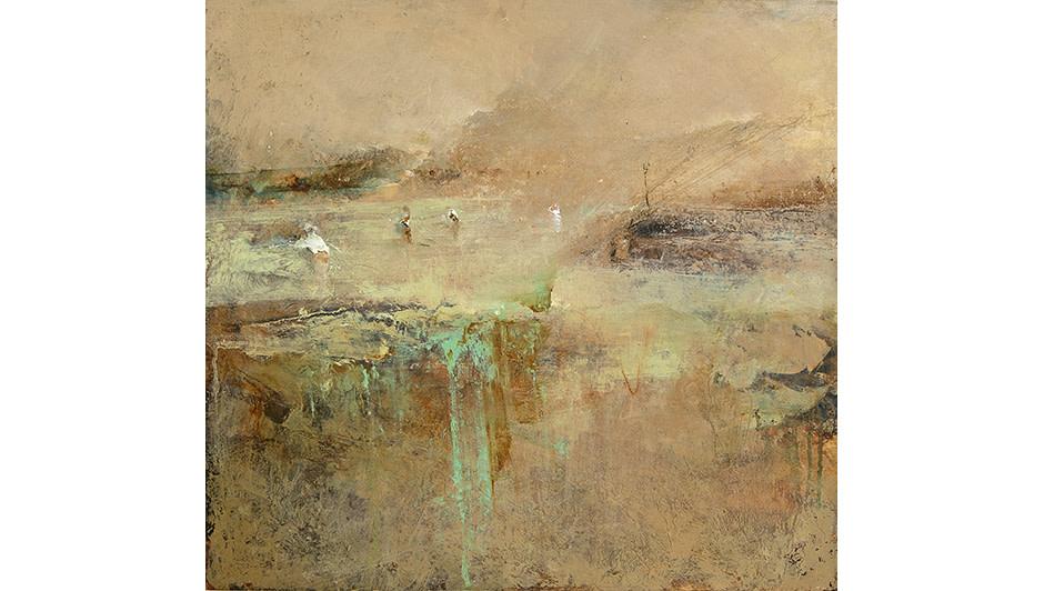 'Looking Apart' Peter Turnbull   Oil on Canvas