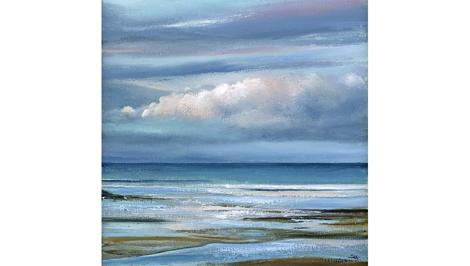 'Morning Cloud' By Suki Wapshott Oil on Linen Canvas