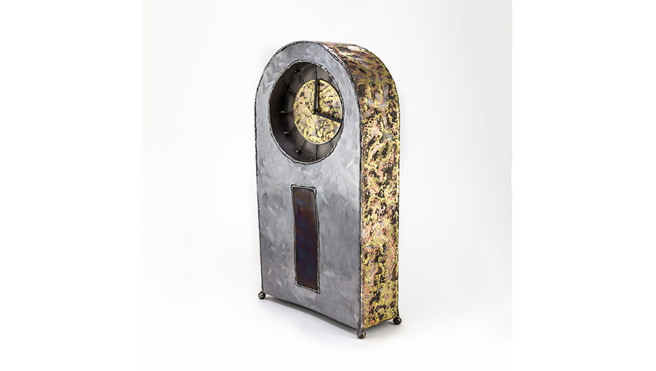 'Large Mantle Clock' By Kerry Whittle