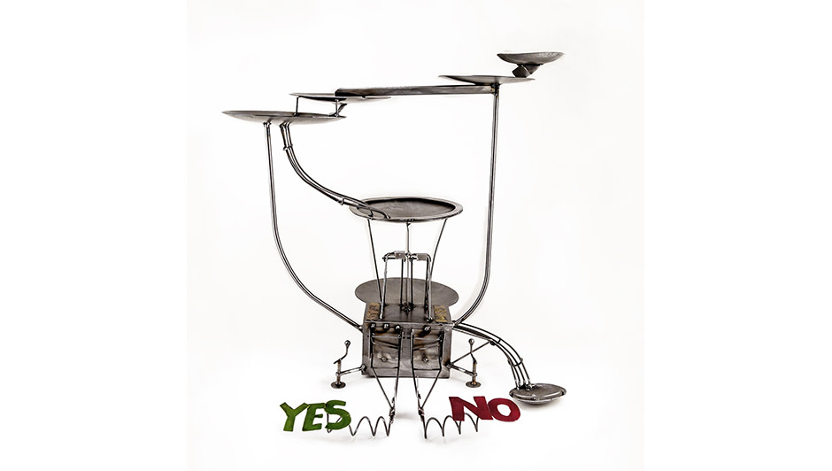 'YES/NO machine' By Kerry Whittle