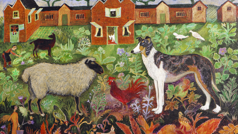 Red Rooster, 2019 by Anna Pugh