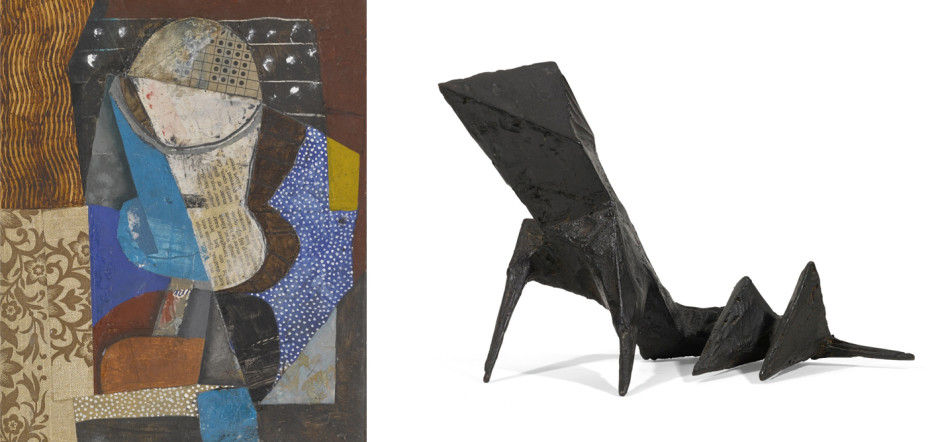 Amsterdam – Still Life (1996), oil and collage on board Maquette XIII Beast (1967), cast bronze BRYAN INGHAM LYNN CHADWICK RELOCATION A CHANGING SELECTION OF WORKS BY GALLERY ARTISTS AND MODERN ST IVES & BRITISH NAMES ongoing