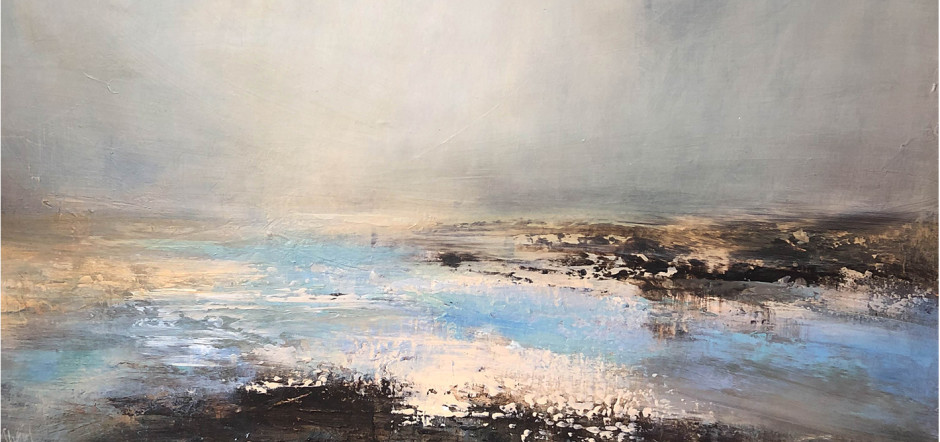 Summer Haze (detail), acrylic on canvas ERIN WARD RELOCATION A CHANGING SELECTION OF WORKS BY GALLERY ARTISTS AND MODERN ST IVES & BRITISH NAMES ongoing