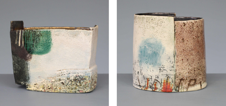 CRAIG UNDERHILL FINDING GODREVY: CRAIG UNDERHILL A NEW COLLECTION OF VISUALLY RICH AND EVOCATIVE, TACTILE CERAMICS CREATED HERE IN CORNWALL DURING THE COVID-19 LOCKDOWN until 5 September