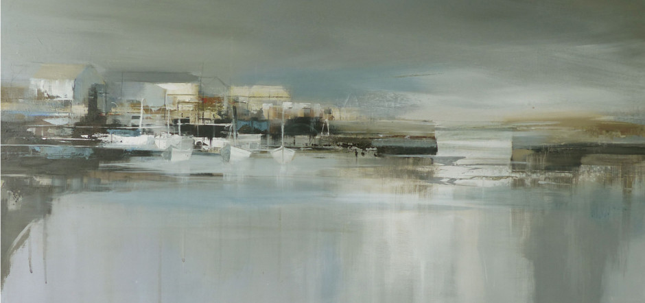 Still Water, acrylic on canvas JENNY HIRST RELOCATION A CHANGING SELECTION OF WORKS BY GALLERY ARTISTS AND MODERN ST IVES & BRITISH NAMES ongoing