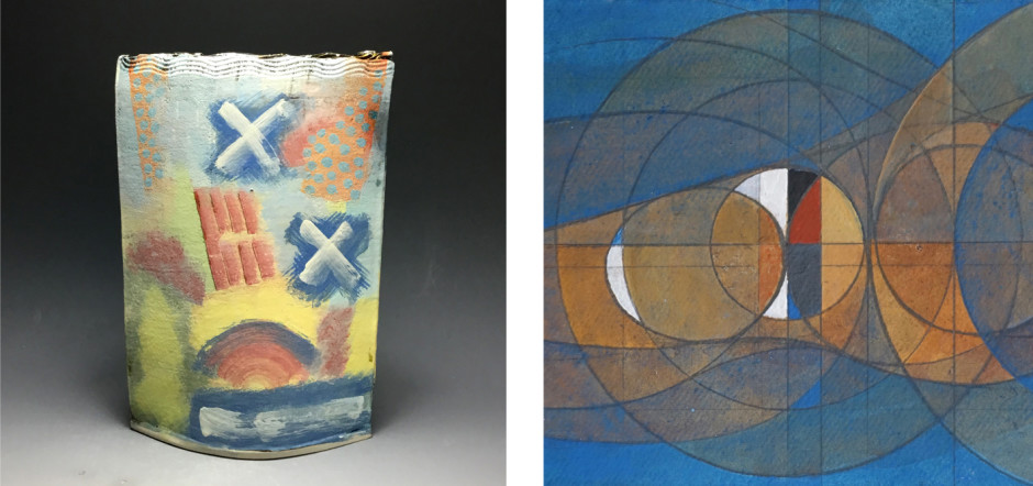 JOHN POLLEX PATRICK HAUGHTON (detail) RENEWAL:2020 MIXED EXHIBITION OF PAINTINGS AND CERAMICS BY GALLERY ARTISTS 28 March – 6 June - view online
